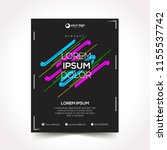 modern design template... | Shutterstock .eps vector #1155537742