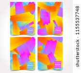 modern design template...   Shutterstock .eps vector #1155537748