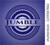 jumble with jean texture   Shutterstock .eps vector #1155567862
