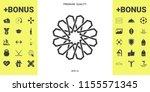 traditional geometric oriental...   Shutterstock .eps vector #1155571345