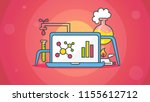 element of science and... | Shutterstock .eps vector #1155612712