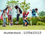 kids preschool kindergarten... | Shutterstock . vector #1155615115