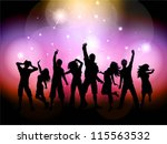 party people background | Shutterstock .eps vector #115563532