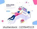 tutorial infographic ... | Shutterstock .eps vector #1155645115
