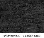 dark black wall texture... | Shutterstock . vector #1155645388