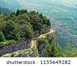 landscape or panorama mountain... | Shutterstock . vector #1155649282