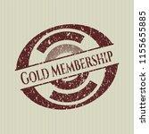 red gold membership distress... | Shutterstock .eps vector #1155655885