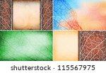 nature theme design business... | Shutterstock .eps vector #115567975