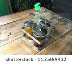 seasoning glass of thai... | Shutterstock . vector #1155689452