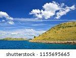 kornati islands national park.... | Shutterstock . vector #1155695665