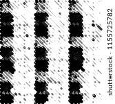 black and white grunge stripe... | Shutterstock . vector #1155725782