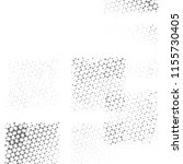 grunge halftone black and white ... | Shutterstock . vector #1155730405