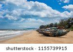 Small photo of Beautiful scene and famous place at Ho Coc Beach, Ba Ria Vung Tau Province, Vietnam.