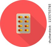 pill icon design | Shutterstock .eps vector #1155755785