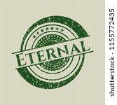 green eternal rubber seal | Shutterstock .eps vector #1155772435