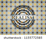 realism arabic badge background.... | Shutterstock .eps vector #1155772585