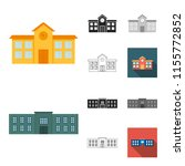 building and architecture... | Shutterstock .eps vector #1155772852