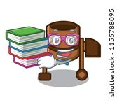 student with book concrete... | Shutterstock .eps vector #1155788095