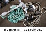 boat propeller speed boat made... | Shutterstock . vector #1155804052