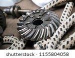 boat propeller speed boat made... | Shutterstock . vector #1155804058