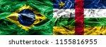 brazil vs central african...   Shutterstock . vector #1155816955