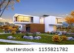 3d rendering of modern cozy... | Shutterstock . vector #1155821782
