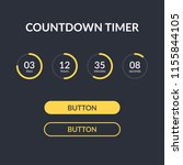 countdown timer vector website...