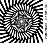 abstract black and white... | Shutterstock .eps vector #1155858208