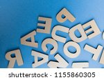 words have power word cube on... | Shutterstock . vector #1155860305