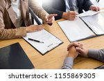 young man explaining about his...   Shutterstock . vector #1155869305