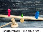 deprivation of parental rights. ... | Shutterstock . vector #1155875725