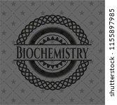 biochemistry dark emblem | Shutterstock .eps vector #1155897985