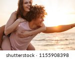 image of happy young loving...   Shutterstock . vector #1155908398