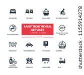 apartment rental service   flat ... | Shutterstock .eps vector #1155914278