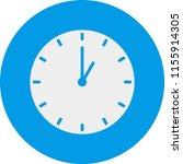 clock filled circle | Shutterstock .eps vector #1155914305