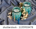 aromatics colors candles | Shutterstock . vector #1155933478