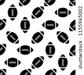 american football icon seamless ...   Shutterstock .eps vector #1155965002