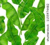 seamless watercolor pattern... | Shutterstock . vector #1155974482