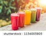 Rainbow From Smoothies....