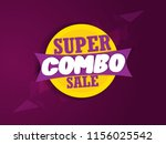 creative sale abstract or... | Shutterstock .eps vector #1156025542