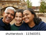 minority couple at their home   Shutterstock . vector #11560351