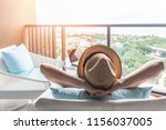 relaxation healthy living... | Shutterstock . vector #1156037005