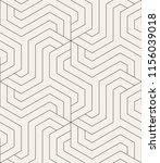 vector seamless pattern. modern ... | Shutterstock .eps vector #1156039018