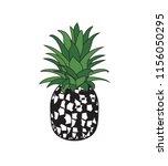 vector illustration of tropical ... | Shutterstock .eps vector #1156050295