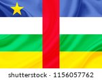 central african republic fabric ... | Shutterstock . vector #1156057762