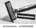 man's shaving machine with an...   Shutterstock . vector #1156065688