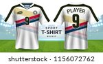 soccer jersey and sportswear t...   Shutterstock .eps vector #1156072762