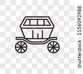 carriage vector icon isolated... | Shutterstock .eps vector #1156092988