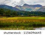 lake district in cumbria | Shutterstock . vector #1156096645