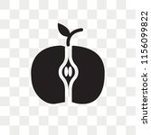 apple vector icon isolated on... | Shutterstock .eps vector #1156099822